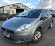 Fiat Punto - Adaptive driving system car - Cuverville  (14840)