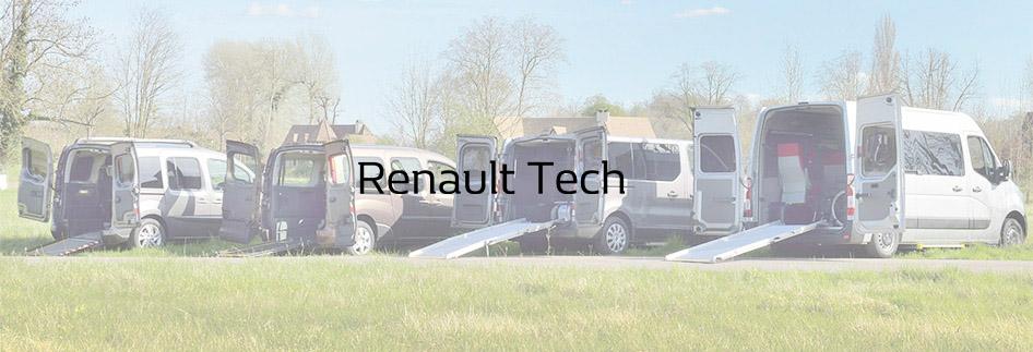 Renault Tech aménage votre véhicule et l'adapte à votre handicap