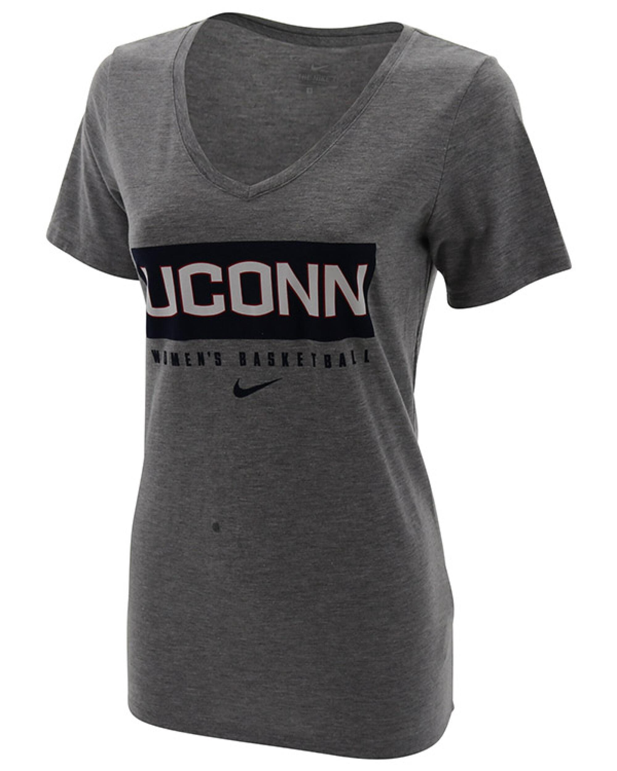 Uconn Huskies Nike Women S Basketball Tri Blend Short Sleeve T Shirt Uconn Huskies Merchandise University Of Connecticut Apparel Uconn Gear Huskies Clothing Uconn Huskies Fan Shop