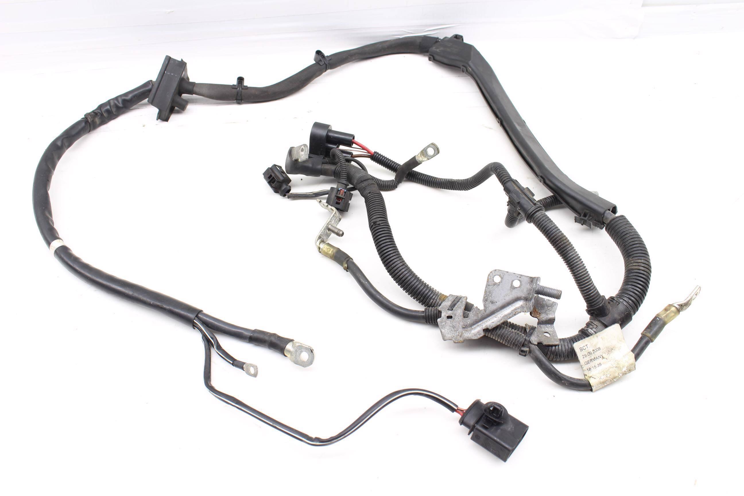 2008 2009 2010 2011 Audi A5 B8 32l Alternator Starter Wiring Harness