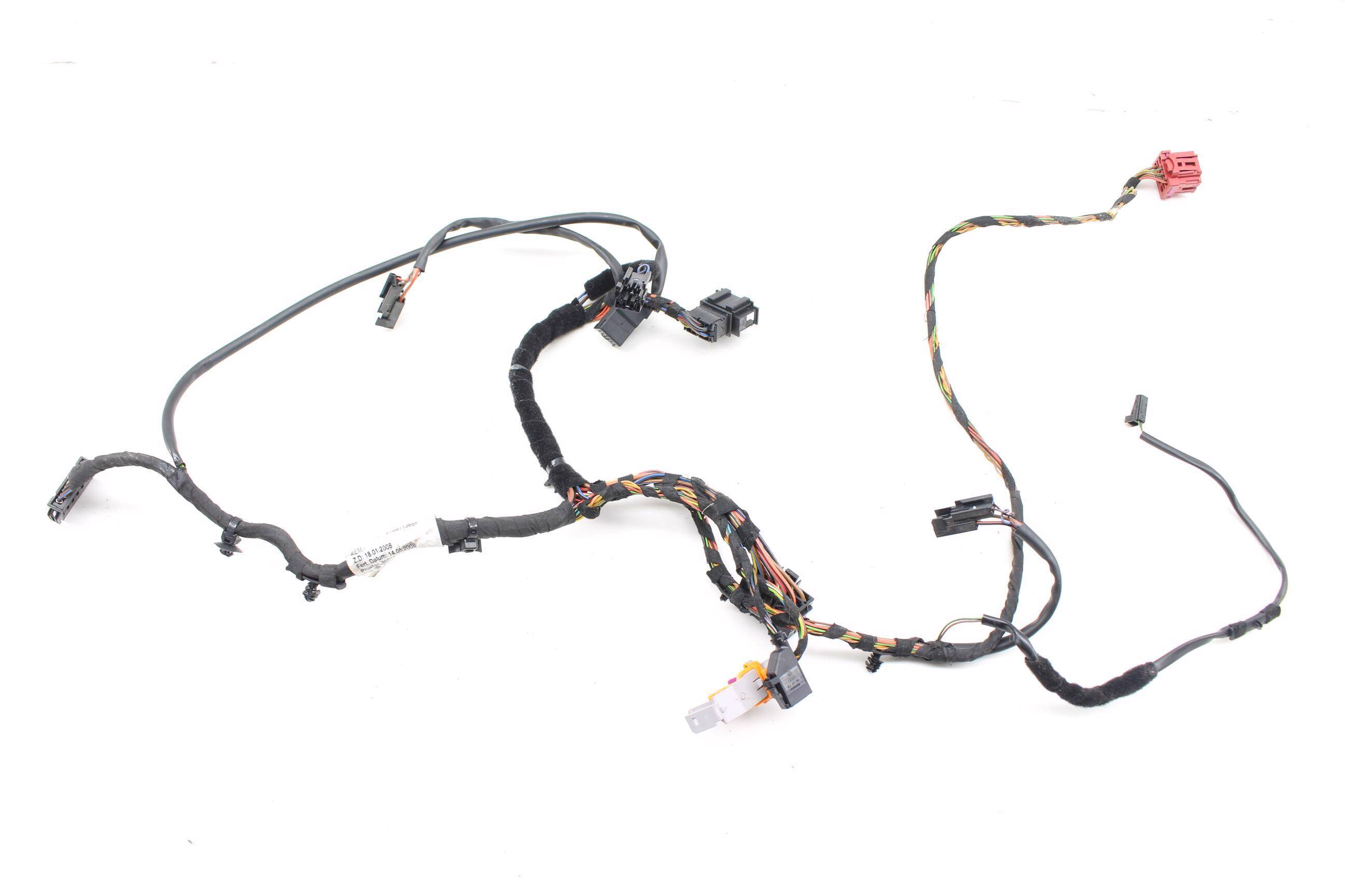 2009 2015 10 11 12 13 14 Audi A4 B8 Front Left Seat Frame Wiring Harness For 2008 Large Photo