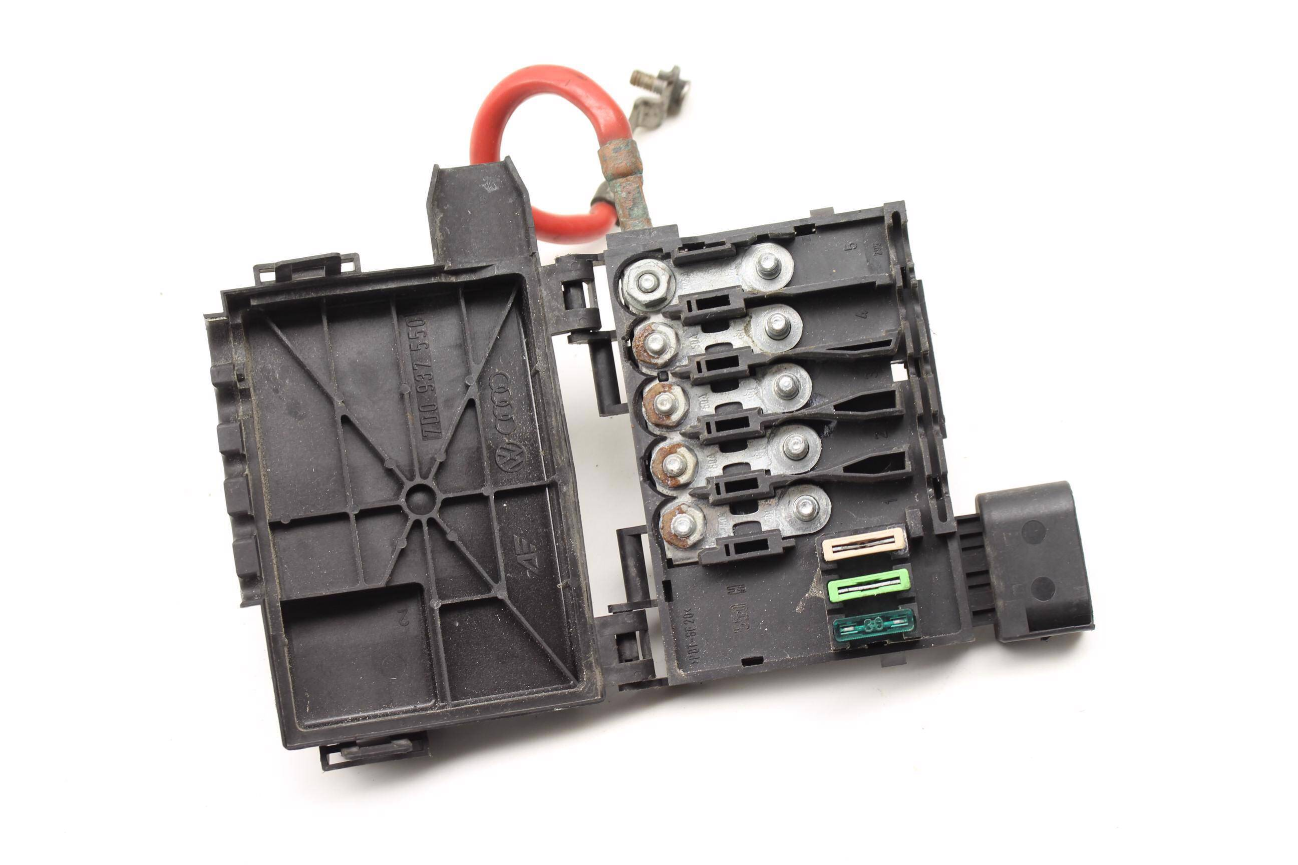1999 2000 2001 2002 2003 vw eurovan t4 - fuse box / holder
