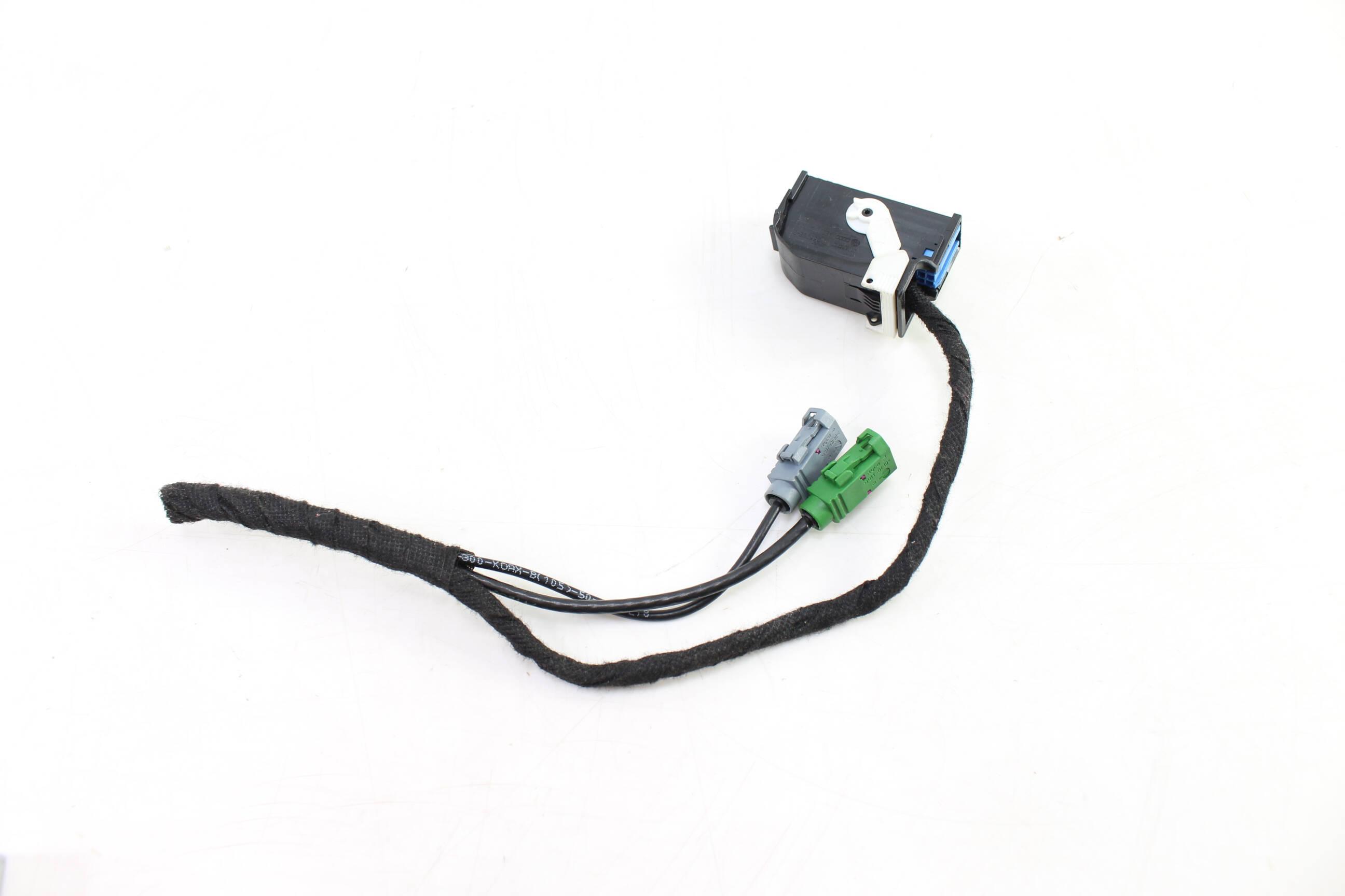 audi s6 c6 rear view reverse camera module wiring harness