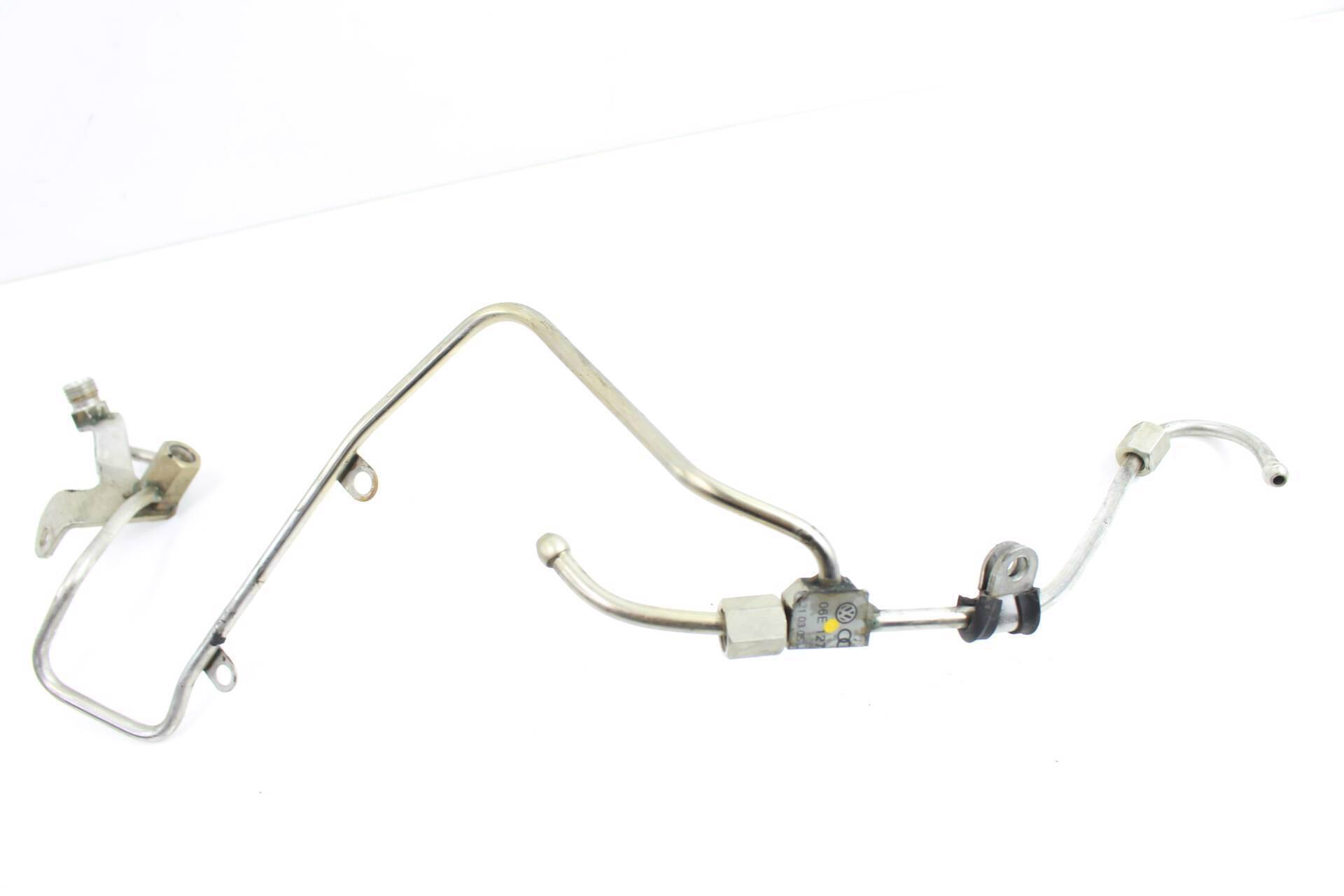 AUDI A4 A6-06E127509L HIGH PRESSURE FUEL INJECTOR RAIL LINE