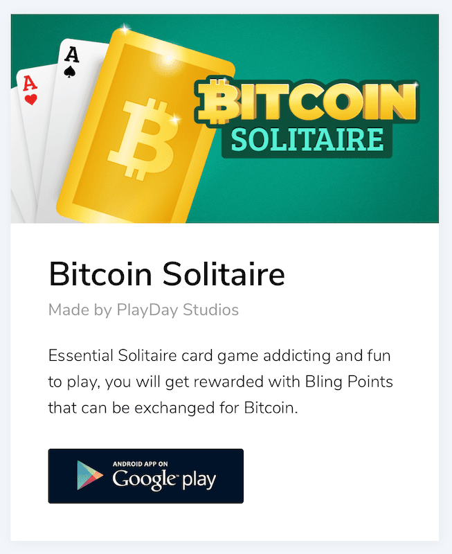 bitcoin solitaire is the third installation in the bling bitcoin series