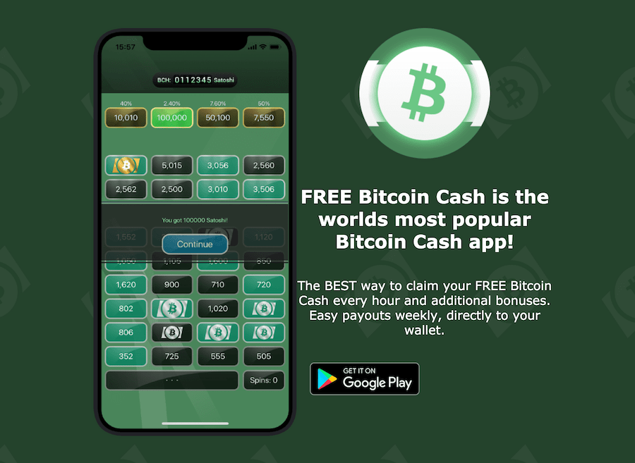 free bitcoin cash is the highest paying bitcoin game available