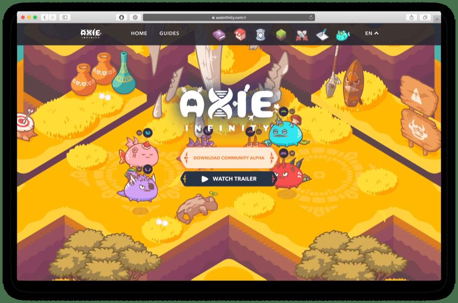 axie evolution ethereum game