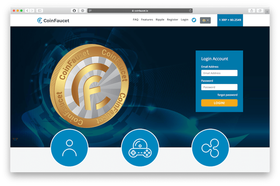 coinfaucet.io is the best xrp faucet in 2020