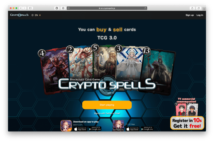 cryptospells is one of the best ethereum games