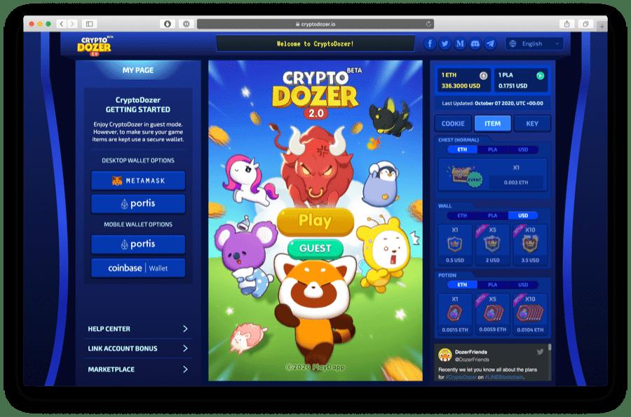 cryptodozer.io game