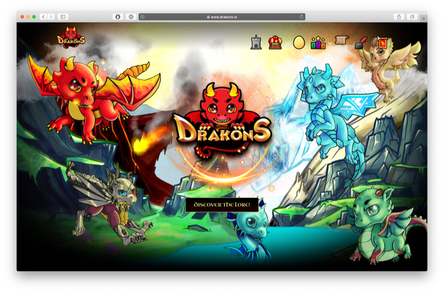 drakons is a collectible card game