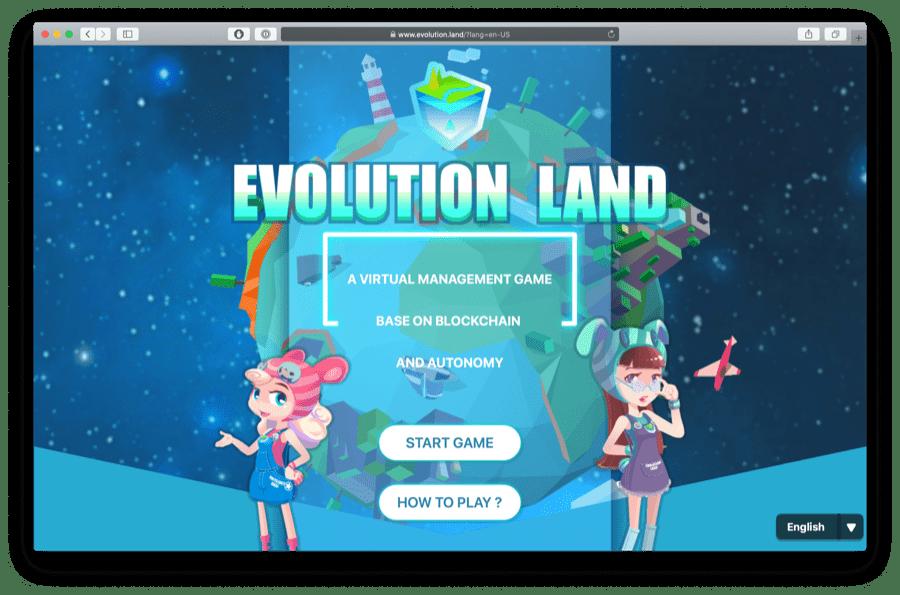 evolution land game