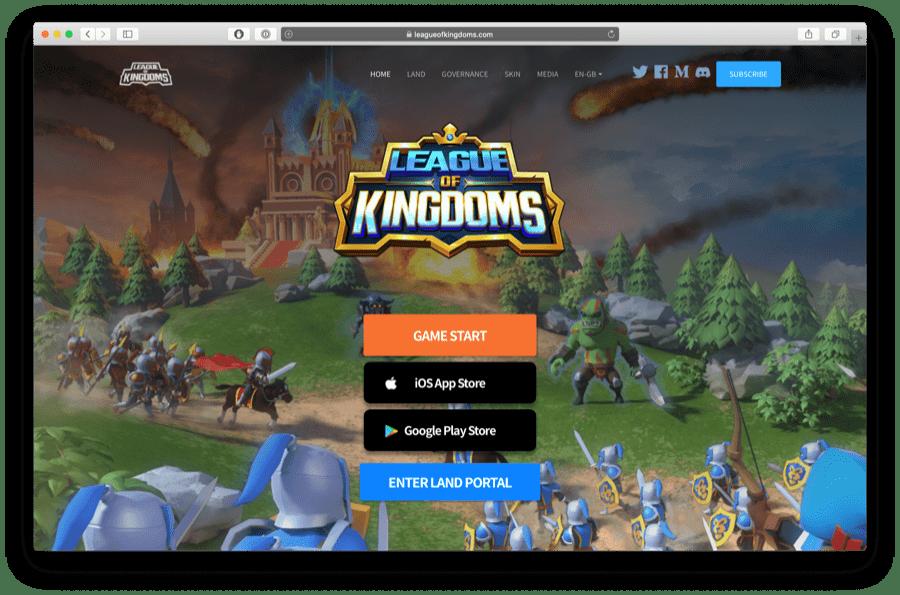 league of kingdoms ethereum game