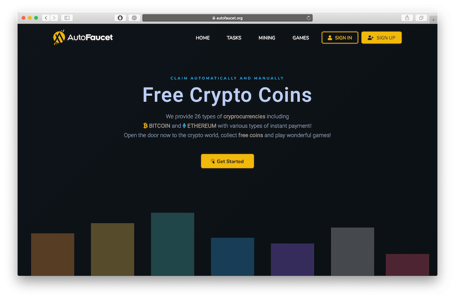 autofaucet highest paying automatic bitcoin faucet