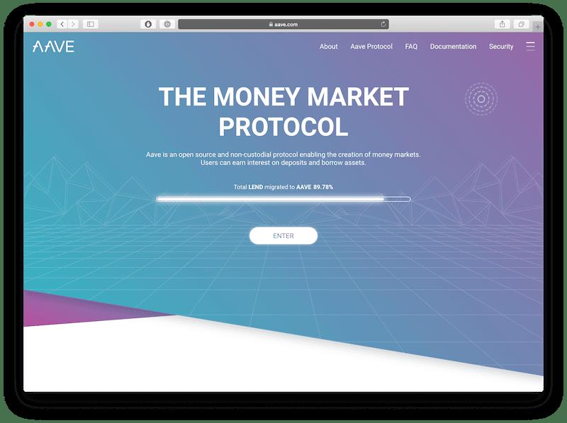 aave is the best ethereum-powered lending dapp platform