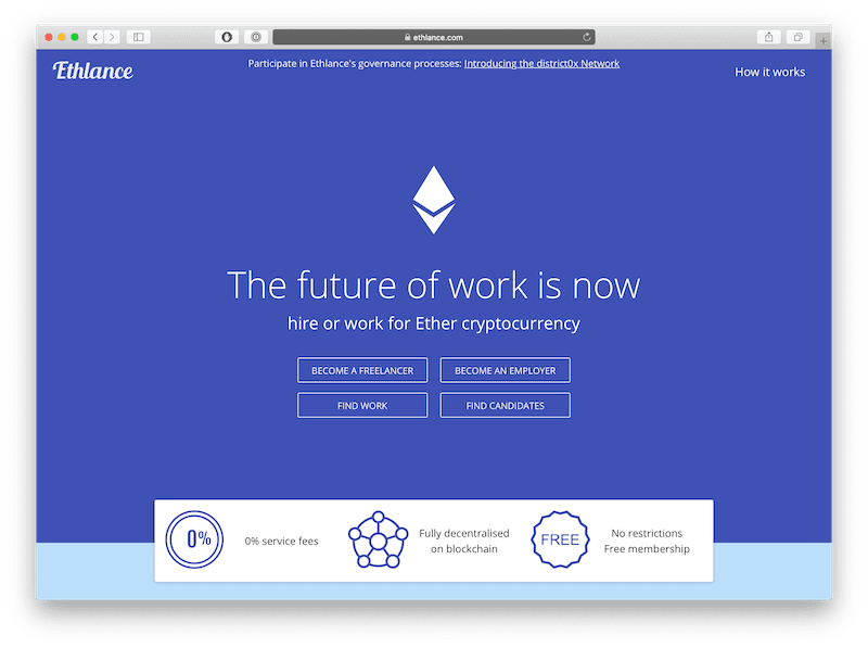 ethlance is the best dapp for freelancers to make money