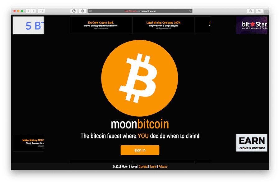 moonbit.co.in best and highest paying bitcoin faucet