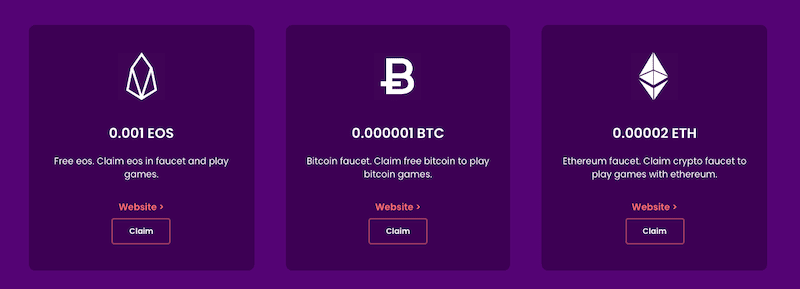 trustdice allows you to claim not just Bitcoin with their faucet
