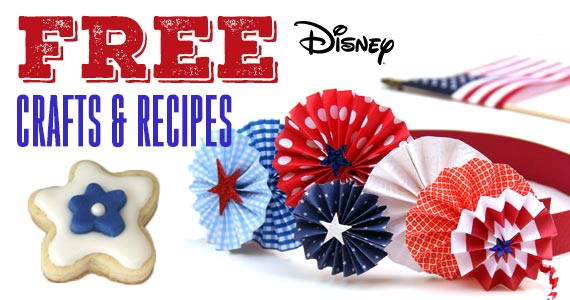 22 Disney 4th of July Crafts & Recipes