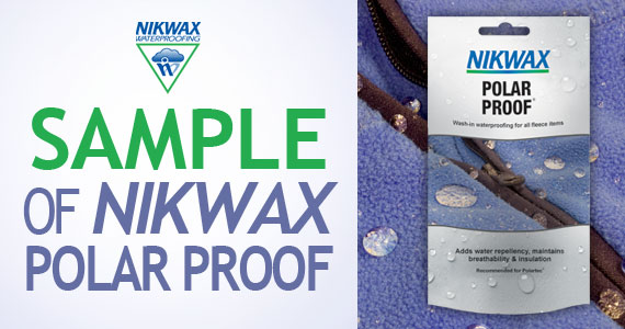 Free Sample of Nikwax Waterproofing For Leather