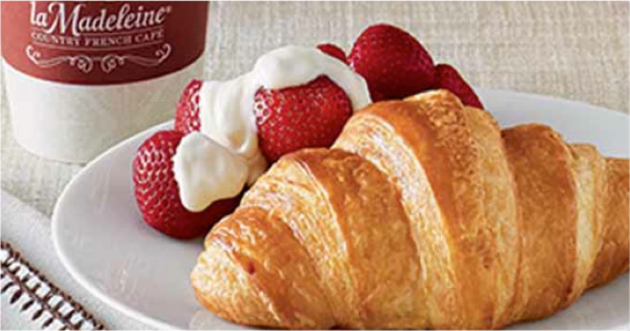Free Pastry & More At la Madeleine Country French Cafe