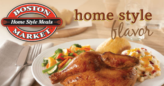 Free Menu Item From Boston Market On Your Birthday