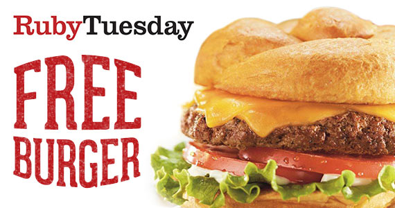 Free Birthday Burger From Ruby Tuesday