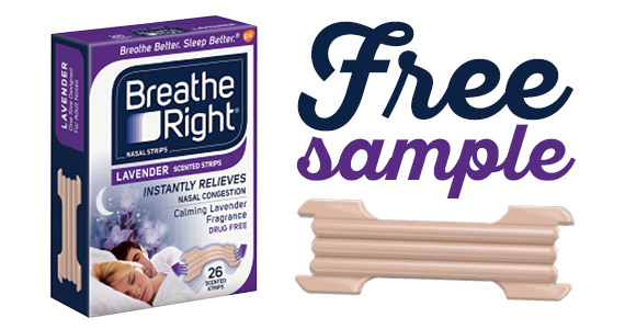 Get A Free Breathe Right Sample
