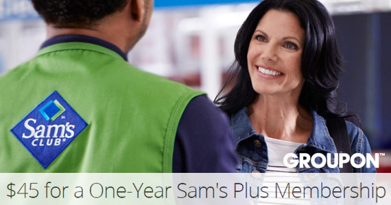 Save on a Sam's Plus Membership Package