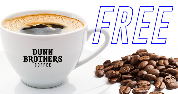 Free Dunn Brothers Coffee On Your Birthday