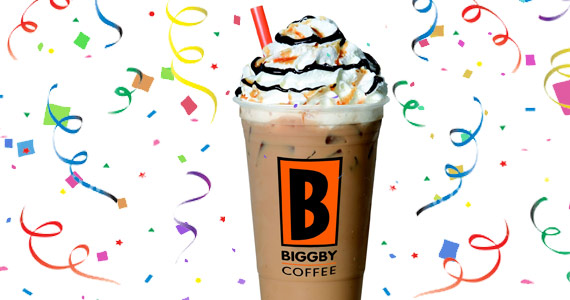 Free Drink On Your Birthday From BIGGBY Coffee