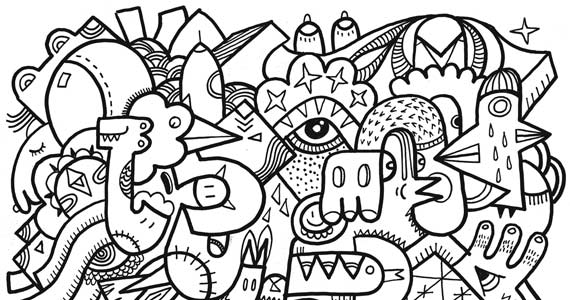 Check Out These Free Adult Anti-Stress Coloring Pages