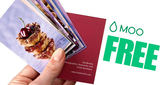 Free 10 Pack Of Business Cards From Moo