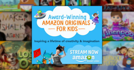 Check Out Award-Winning Amazon Originals For Kids