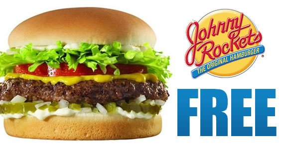 Get A Free Johnny Rockets Burger Instantly