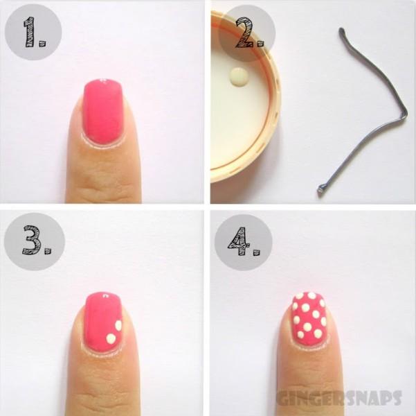 bobby pin nails