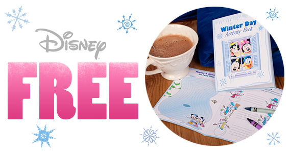 Free Mickey and Friends Winter Day Activity Book