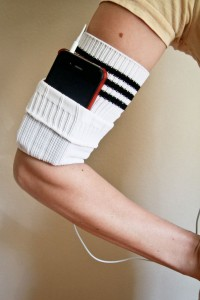 old socks arm band