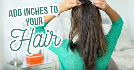 Add Inches To Your Hair With This Beauty Hack