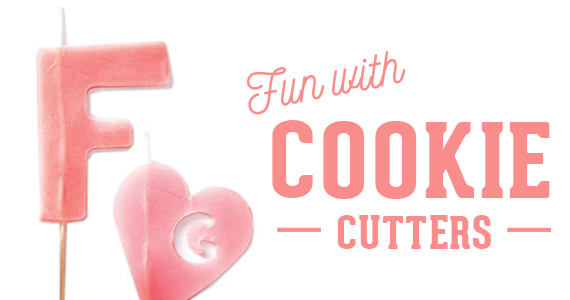 Food-Free Fun with Cookie Cutters
