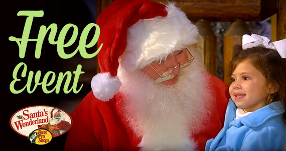 Free Christmas Event At Bass Pro Shops