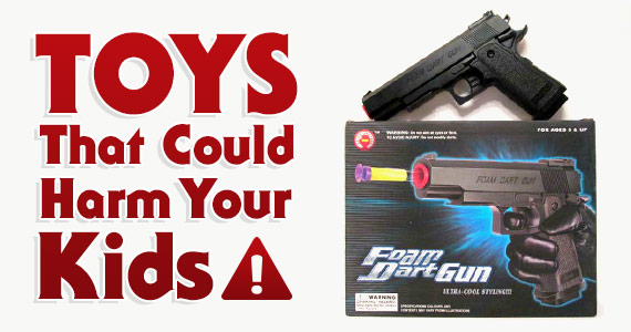 These 10 Toys Could Cause Harm To Your Kids