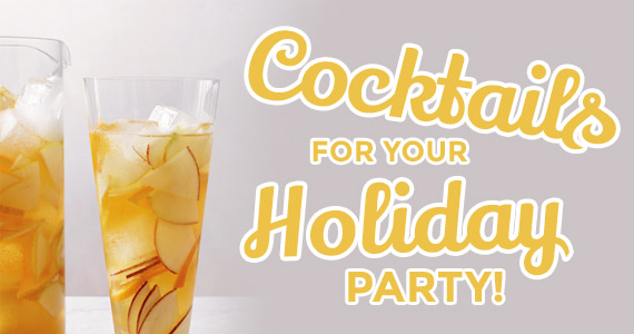 Easy Big-Batch Cocktails For Your Holiday Party