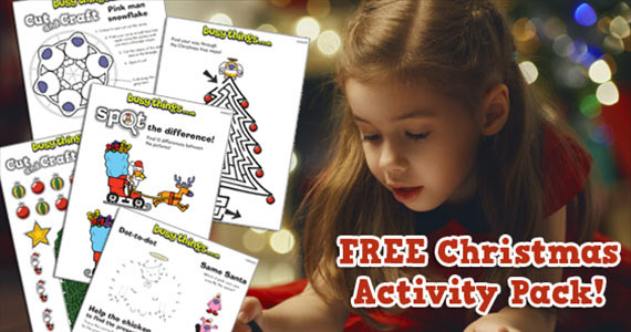 Free Kids Christmas Activity Pack