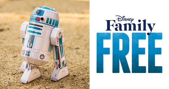 Free R2-D2 Papercraft