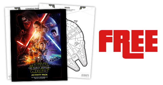 Free Star Wars: The Force Awakens Printables
