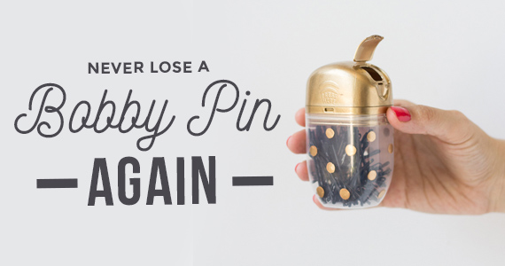 Never Lose A Bobby Pin Again Thanks To This Storage Idea