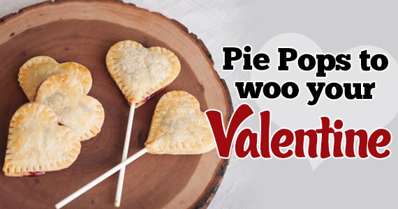 These Heart-Shaped Pie Pops Will Woo Your Valentine