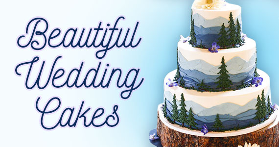 These Wedding Cakes Are Almost Too Beautiful To Eat