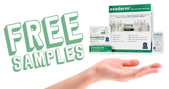 Free Exederm Skincare Samples